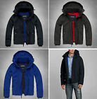NWT Abercrombie A&F Men's Fleece Lined All-Season Weather Warrior Jacket Coat