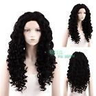"""20""""-28"""" Long Curly Off Black Lace Front Wig Synthetic Hair Wig"""