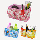 Nonwoven Multi-function Jewelry Cosmetic Folding Storage Boxs Makeup Bags Case