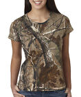 3685 Code V Ladies Officially Licensed REALTREE® Camo Short Sleeve T Shirt