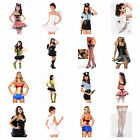 **EXCELLENT QUALITY** Adult Sexy Fancy Dress Costume Outfit Freshers Halloween