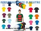 T-SHIRT MAGLIETTA MANICA CORTA UOMO FRUIT OF THE LOOM  T-SHIRT PERSONALIZZABILE*