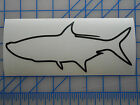 "Tarpon Outline Decal Sticker 5.5"" 7.5"" 11"" Inshore Fish Offshore Saltwater Game"