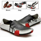 Casual Fashion Shoes Genuine Leather Driving Moccasins Slip On Sneakers for Men
