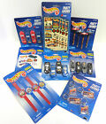 Hot Wheels Party Treat Bag Favors Key Chain Whitsle Watches Pencils Stickers