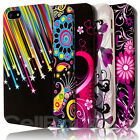 Funky Stylish TPU Flower Jellyfish Pattern Slim Case For The iPhone 4 4S 5 5S