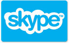 Skype Credit $10 / $25 / $50 - Call, Text, Wifi hotspots - Email