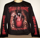 Cradle Of Filth Cruelty & The Beast long sleeve T-Shirt Size S M L XL 2XL 3XL