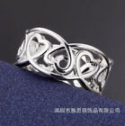 Wholesale 925 Silver Ring Women Classic Fashion Jewelry Party Gift Size 8