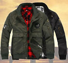 Fashion Mens MA1 US Air Force Pilot Army Work Bomber Jacket Aviator Two Color U