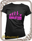 Humour evolution bulldog ladies,t shirt,S,M,L,XL,XXL