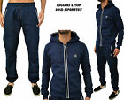 Mens Foray Apparel Tracksuit Designer Jogging Combat Bottoms & Zip Hoody Jumper
