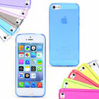 iPhone 5 5S 5C SE for Apple Slim Soft Silicone Gel Case Cover