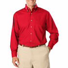 MEN'S LONG SLEEVE POPLIN SHIRTS,  SIZE S TO 7XL, PLUS SIZE, LARGE SIZE SHIRTS
