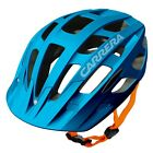 Carrera Edge MTB Freeride Enduro Mountain Bike Cycling Helmet Matt Blue Orange