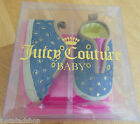 Juicy Couture baby girl shoes booties BNIB 18 EUR 2.5 UK 6-9 m designer