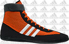 Adidas Combat Speed.4 MEN'S Wrestling Shoes, Orange/White/Black M18782