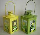 NEW LOVELY DAISY FLOWER LANTERN FOR TEALIGHT - INDOORS OR OUT 2047