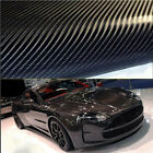 High Quality 4D Gloss Car Carbon Fiber Vinyl Wrap Sticker Film Roll Air Free