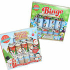 Novelty Fun 6 Pack Family Game Christmas Crackers - Scarves & Ladders or Bingo