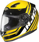 HJC CL-17 Victory Black Yellow Full Face Motorcycle Helmets