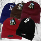 THERMAL INSULATION BOYS MEN FLEECE INSULATED WARM WINTER TURN-UP BRIM BEANIE HAT