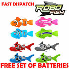ROBO FISH ROBOTIC ROBOT BATTERY OPERATED CLOWNFISH SHARK KID TOY CHRISTMAS PET
