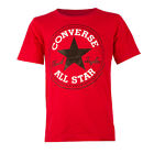 Childrens Converse Chuck Patch Red Crew Neck T Shirt
