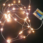 Copper Wire AA Battery Powered 30 LED String Fairy Lights Christmax Decor 3M