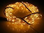 Warm White/RGB 10M 100LED Copper Wire LED String Fairy Lights Lamp Colorful