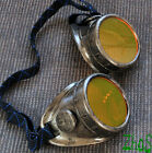 Steampunk Goggles Cyber Glasses Cosplay Anime Rave LARP Airship Captain Burning