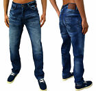 Mens Jeans Designer DML Regular Tapered Fit Denim Pants Clash