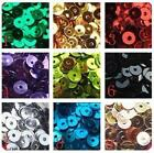 900pcs Sequins Flat 4mm Applique Embellishment Bead Sewing Paillette Craft #3