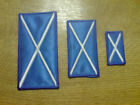 1 x Iron Sew On Motif Applique Embroidered Patch Scotland Saltire Flag