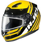HJC CL-17 Snowmobile Helmet Victory Graphic Yellow All Sizes
