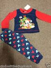 New Disney Mickey Mouse Christmas Xmas baby pyjamas nightwear sleepwear