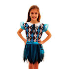 New Monster High FRANKIE STEIN Costume Fancy Dress Ages 6-8 Glow in the Dark