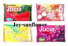 Lotte Jucia Gum: Twist Lemon & Orange, Strawberry & Lychee, Grape, Watermelon