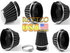 6 Size Inner Diameters Motorcycle Intake Air Filter For ZX 6R 10R 12R 14R Z750 $5.38 USD