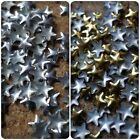 100 x Metal Decoration Studs - 5mm - Star [Various Colours Available]