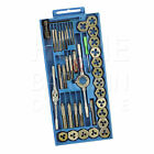 TAP AND DIE SET METRIC CRAFTSMAN ALLOY TUNGSTEN STEEL TITANIUM TOOL EQUIPMENTS