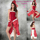 Santa Burlesque Style Christmas Costume Sizes 8-10,  10-12