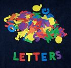 "Alphabet Shaped Foam 1""  Letters ABC Kid Craft Choice of a set or variety pack"