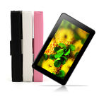 """iRULU 9"""" 8GB A33 Android 4.4 Quad Core BT 4.0 White Black Tablet PC w/ Keyboard"""