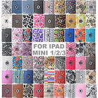 60 Styles 360 Rotating PU Leather Case Smart Stand Cover Skin For IPad MINI1/2/3