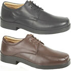 Mens New Extra Wide XXX Leather Super Lightweight Supersoft Shoes Sizes 6 - 14