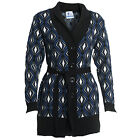 Fashion Wear Wool Blend Cardigan Coat Full Sleeves With Belt for Ladies