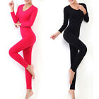 2014 Hot Women Winter Antibiosis Warm Top + Pant Sexy Thermal Underwear NBT048