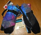 Quiksilver boy girl youth winter ski gloves mittens M 12-13 y New BNWT