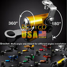 US 7 Colors Universal Fluid Reservoir Master Cylinder Bracket For YZF R6/R1 FZ6R